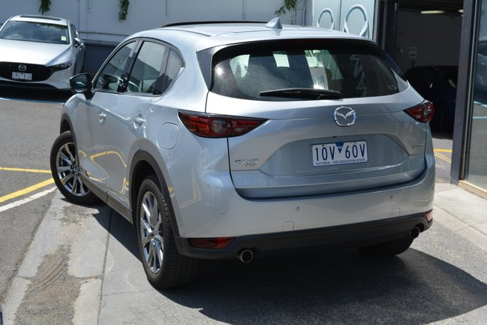 2018 Mazda CX-5 Akera KF Series 4X4 On Demand Silver