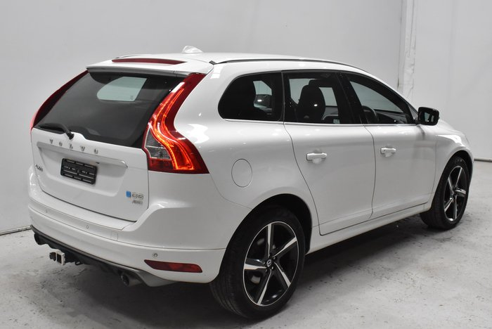2014 Volvo XC60 D5 R-Design MY14 Four Wheel Drive White