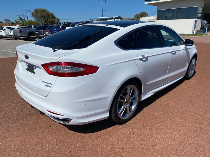 2018 Ford Mondeo Titanium MD MY18.25 White