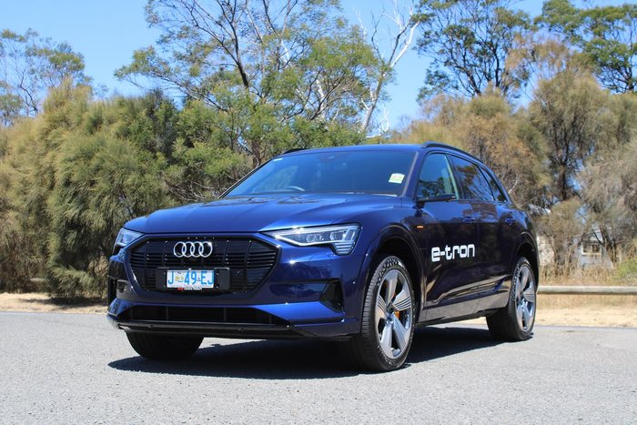 2020 Audi e-tron 55 First Edition GE MY20 Four Wheel Drive Blue