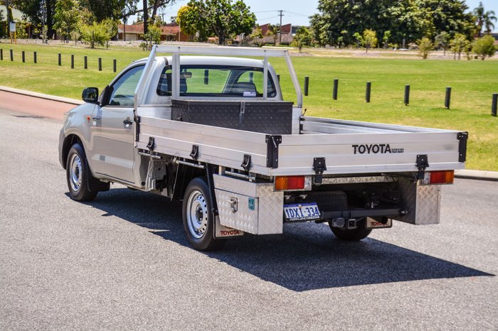 2012 Toyota Hilux Workmate TGN16R MY12 Silver