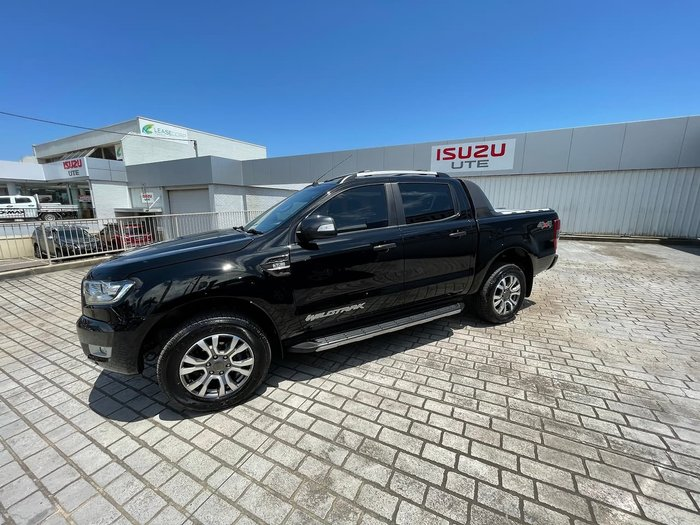2018 Ford Ranger Wildtrak PX MkII MY18 4X4 Dual Range Black
