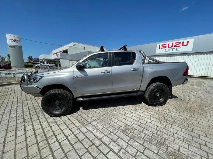 2017 Toyota Hilux SR5 GUN126R 4X4 Dual Range Silver