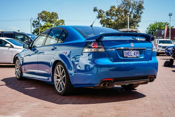 2011 Holden Commodore SS V VE Series II Blue