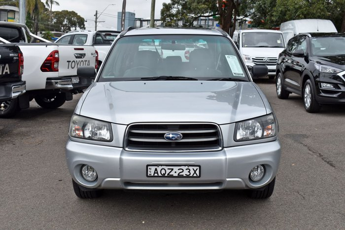 2003 Subaru Forester XS Luxury 79V MY04 Four Wheel Drive Silver