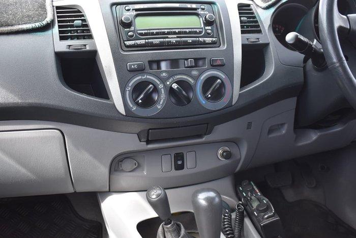 2006 Toyota Hilux SR5 GGN25R MY07 4X4 Silver