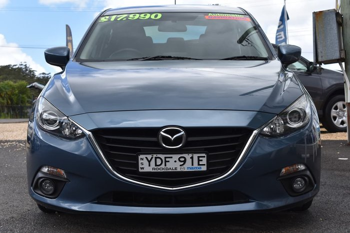 2015 Mazda 3 Maxx BM Series Blue