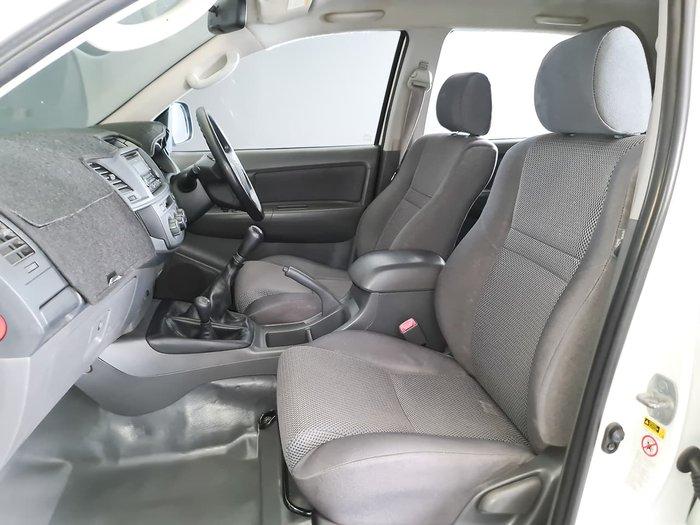 2011 Toyota Hilux SR KUN26R MY12 4X4 White