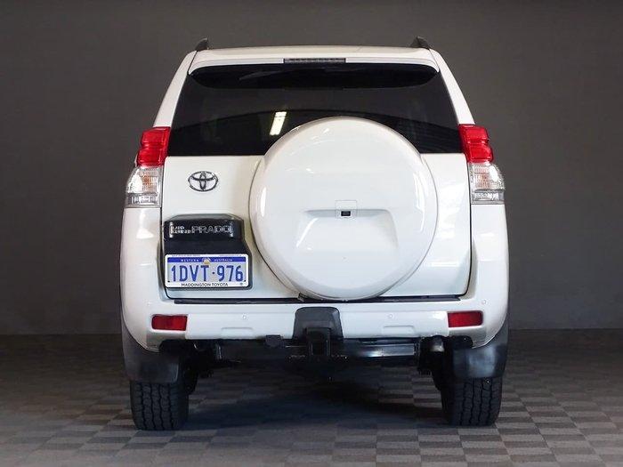 2012 Toyota Landcruiser Prado GXL KDJ150R 4X4 Constant White