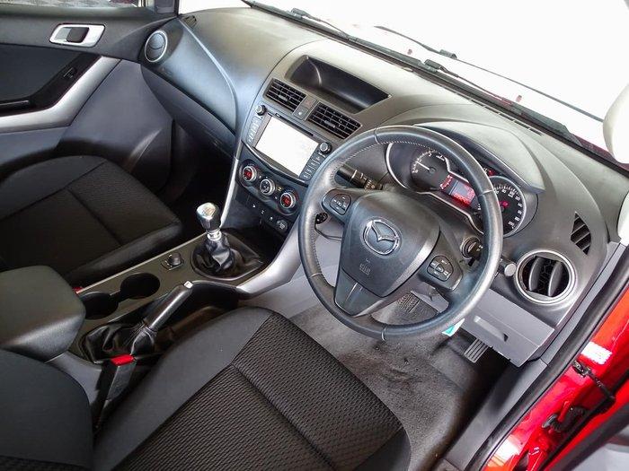 2015 Mazda BT-50 XTR UP 4X4 Dual Range Red