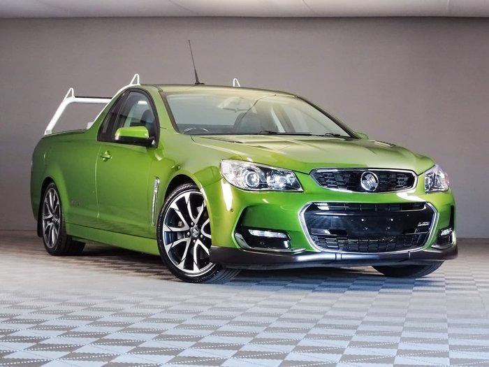 2015 Holden Ute SS V VF Series II MY16 Green