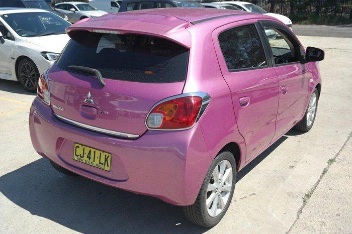 2013 Mitsubishi Mirage LS LA MY14 Pink