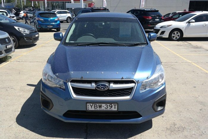 2013 Subaru Impreza 2.0i G4 MY14 Four Wheel Drive Blue