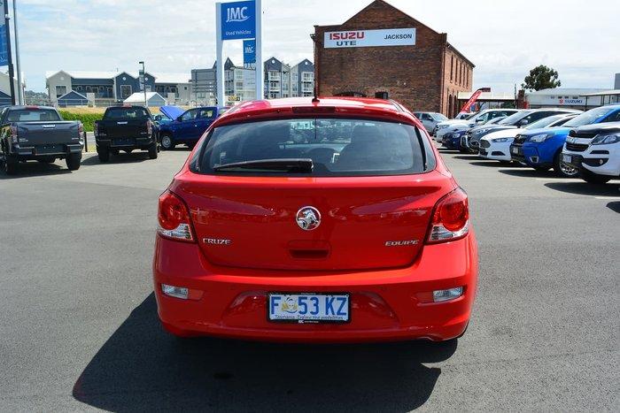 2016 Holden Cruze Equipe JH Series II MY16 Red