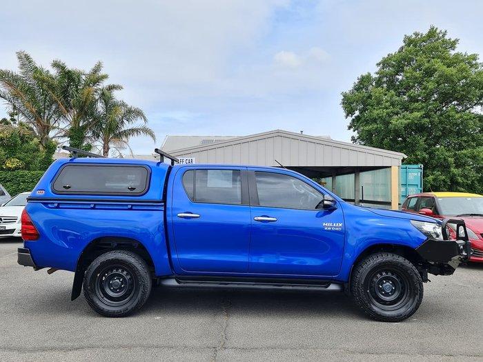 2017 Toyota Hilux SR GUN126R 4X4 Dual Range Blue