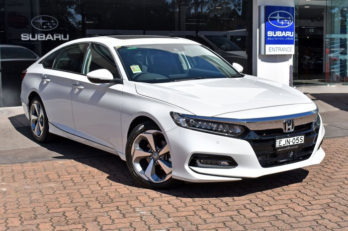 2020 Honda Accord VTi-LX 10th Gen MY19 White