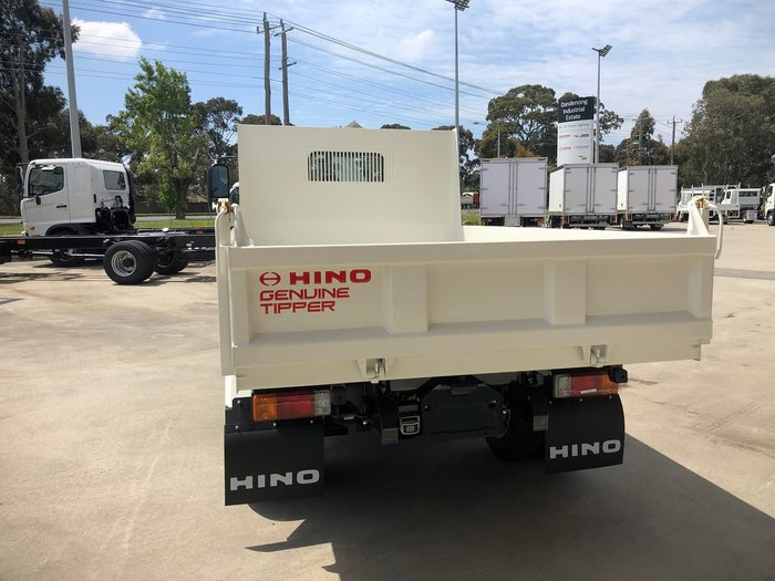 2020 HINO 300 SERIES 616 White