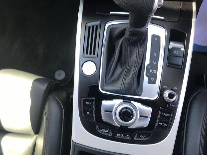 2013 Audi A4 B8 MY13 Four Wheel Drive Grey