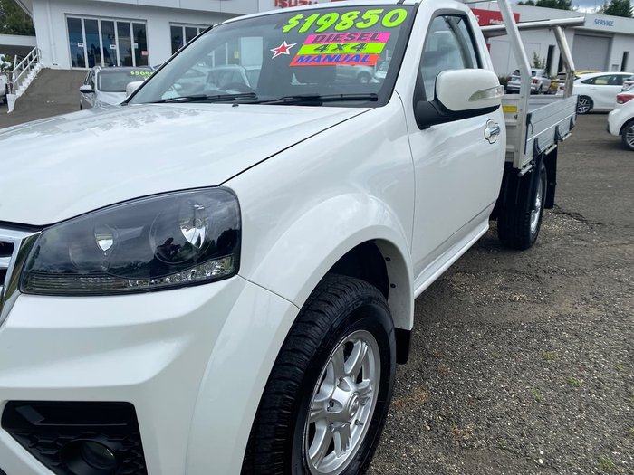 2019 Great Wall Steed K2 MY18 4X4 On Demand White