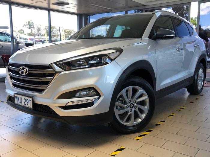 2015 Hyundai Tucson Elite TLe 4X4 On Demand Platinum Silver