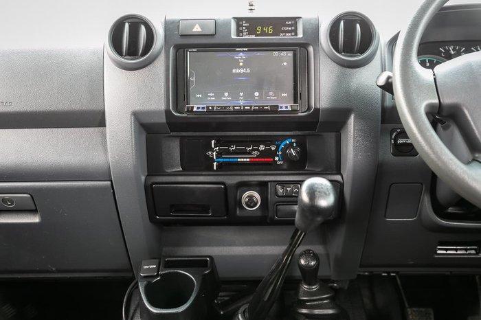 2019 Toyota Landcruiser GXL VDJ79R 4X4 Dual Range White