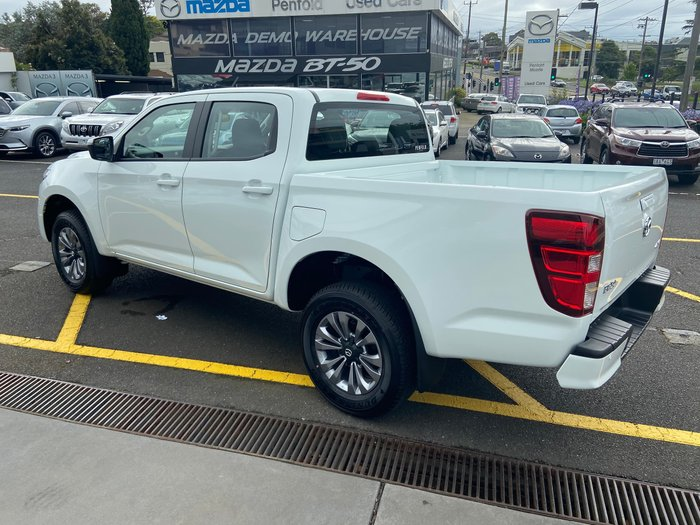 2020 Mazda BT-50 XT TF 4X4 Dual Range Ice White
