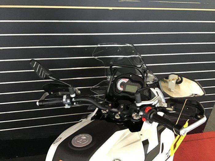 2021 Benelli TRK 502 (ABS) White