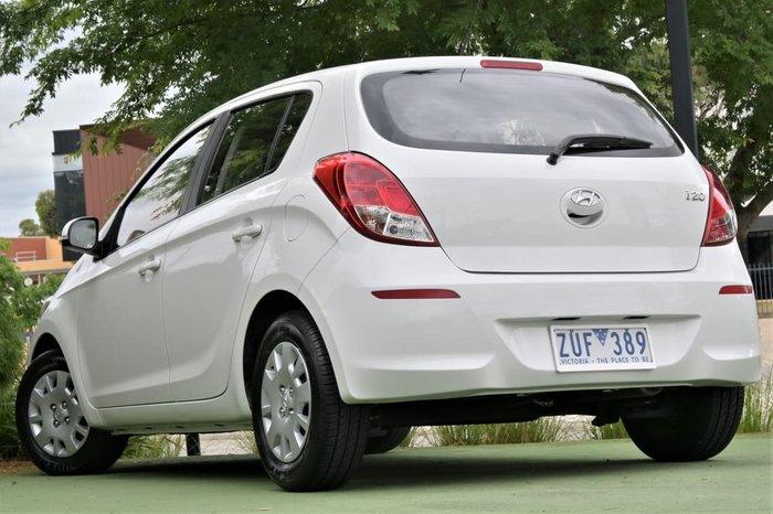 2013 Hyundai i20 Active PB MY13 White