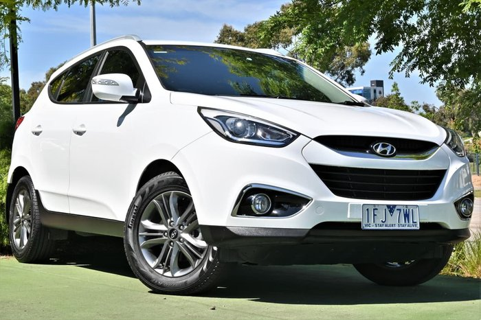 2015 Hyundai ix35 SE Series II MY15 White