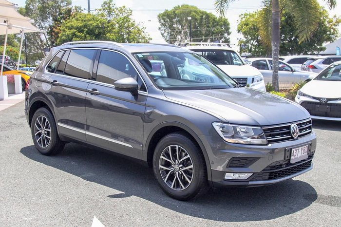2016 Volkswagen Tiguan 132TSI 5N MY16 Four Wheel Drive Grey