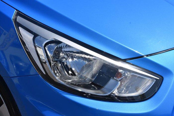 2018 Hyundai Accent Sport RB6 MY19 Blue