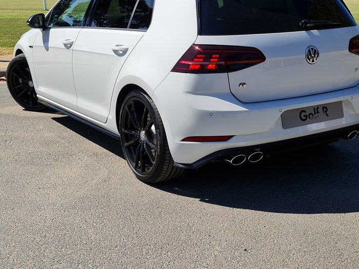 2020 Volkswagen Golf R Final Edition 7.5 MY20 Four Wheel Drive Pure White