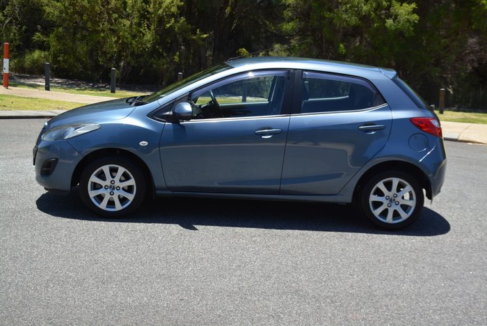 2012 Mazda 2 Neo DE Series 2 MY12 Aquatic Blue