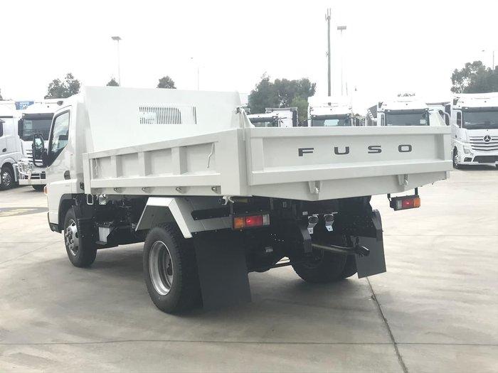 2020 FUSO CANTER 815 WIDE CAB 4X2 TIPPER SWB 6SP A/T WHITE