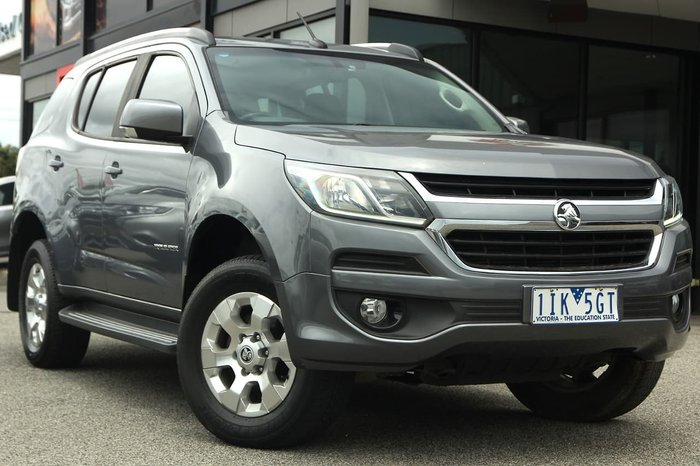 2016 Holden Trailblazer LT RG MY17 4X4 Dual Range Grey