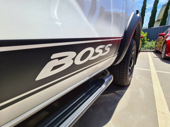 2019 Mazda BT-50 Boss UR 4X4 Dual Range White