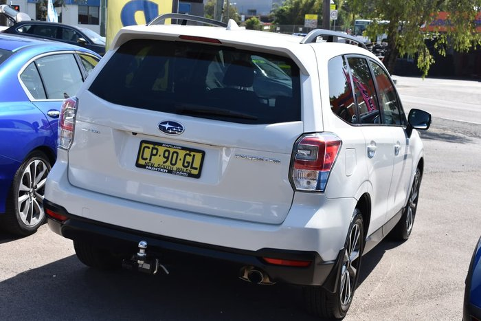 2017 Subaru Forester 2.5i-S S4 MY18 Four Wheel Drive White
