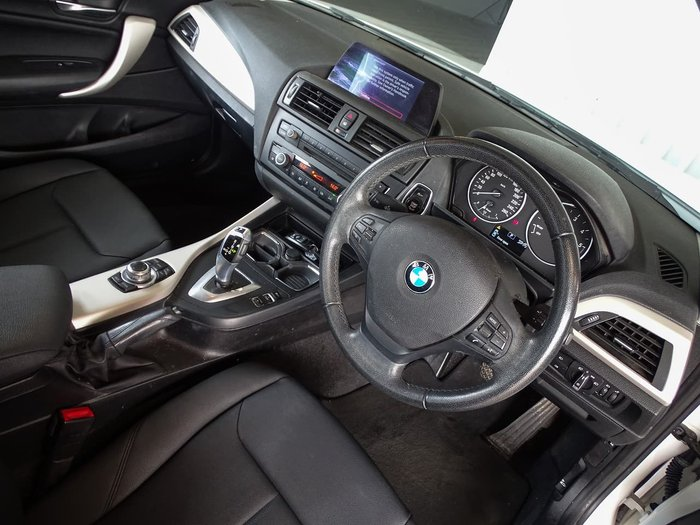 2013 BMW 1 Series 118d F20 White
