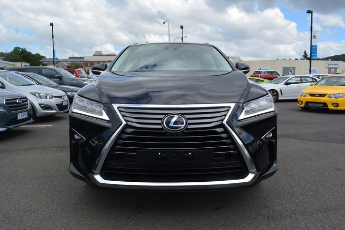 2018 Lexus RX RX350 Sports Luxury GGL25R 4X4 On Demand Black