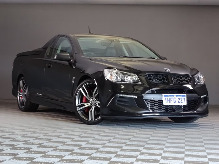 2016 Holden Special Vehicles Maloo R8 LSA GEN-F2 MY16 Black