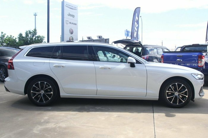 2020 Volvo V60 T5 Momentum MY20 AWD Ice White Solid