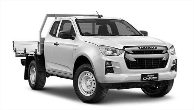 2020 ISUZU D-MAX SX D-Max 21MY 4X4 Space Cab Chassis HighORide SXManual Mineral White