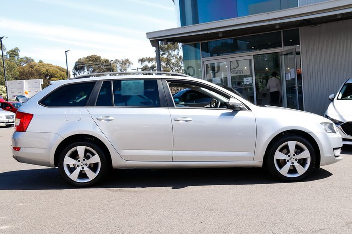 2014 SKODA Octavia Ambition Plus 103TSI NE MY14 Brilliant Silver