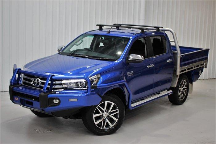 2018 Toyota Hilux SR5 GUN126R 4X4 Dual Range Blue