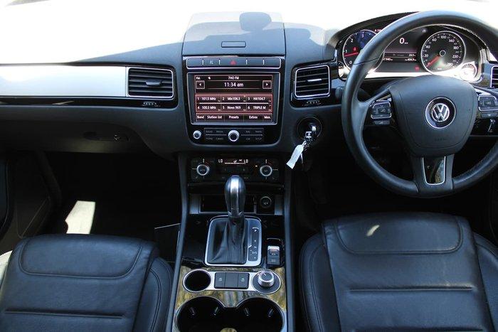 2016 Volkswagen Touareg 150TDI 7P MY16 Four Wheel Drive Grey
