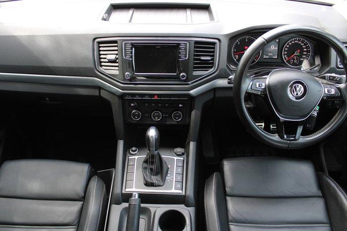 2017 Volkswagen Amarok TDI550 Ultimate 2H MY17.5 4X4 Constant Black