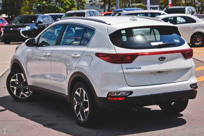2020 Kia Sportage SX QL MY21 White