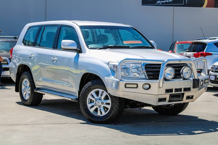 2012 Toyota Landcruiser GXL VDJ200R MY12 4X4 Constant Silver