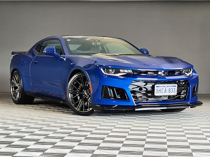 2019 Chevrolet Camaro ZL1 MY19 Blue