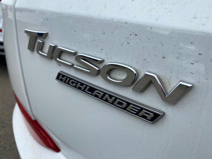2017 Hyundai Tucson Highlander TLE2 MY18 4X4 On Demand White